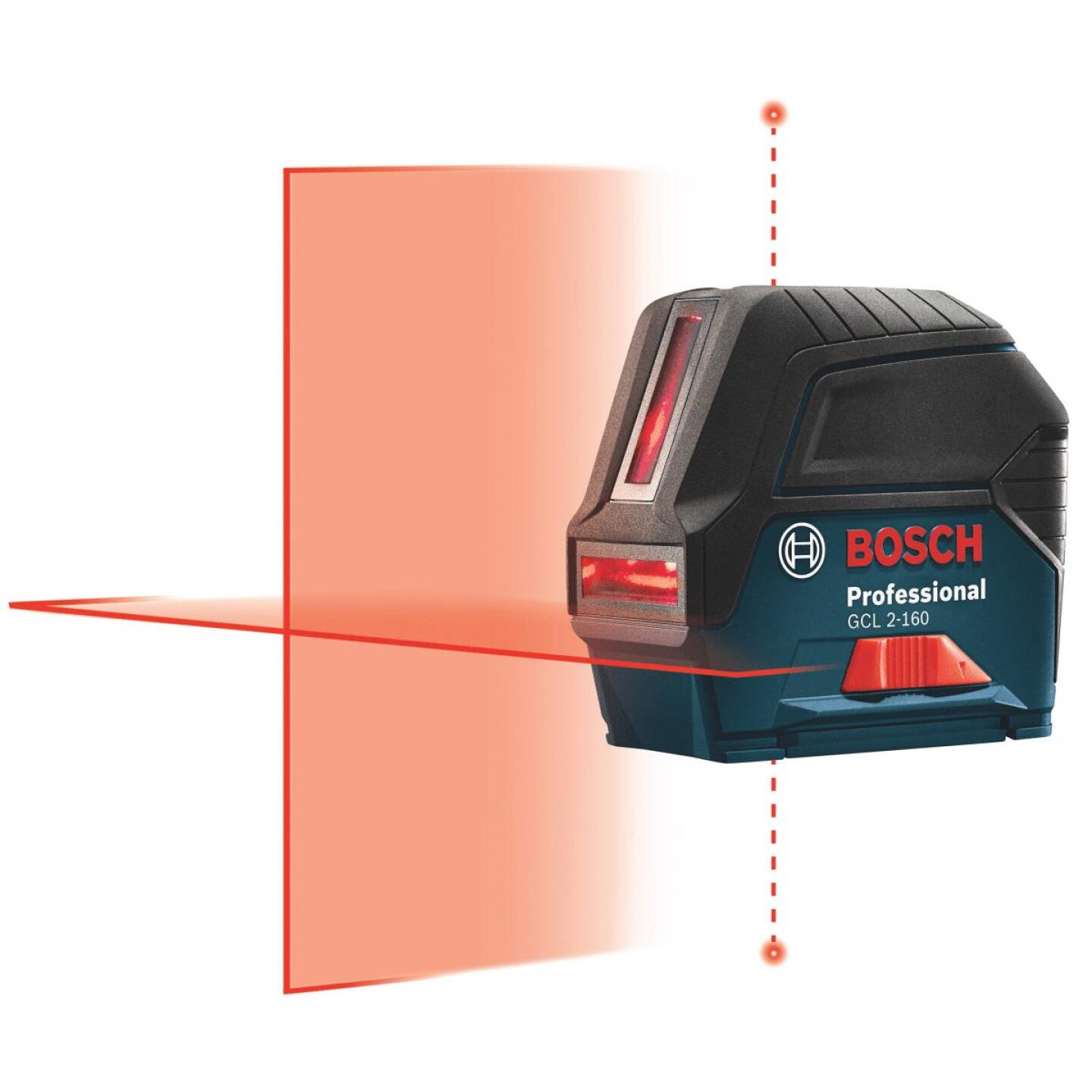 Bosch 165 Ft. Self-Leveling Cross-Line Laser Level with Plumb Points Image 1