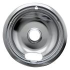 "Range Kleen Electric 6"" Style A Round Chrome Drip Pan Image 1"