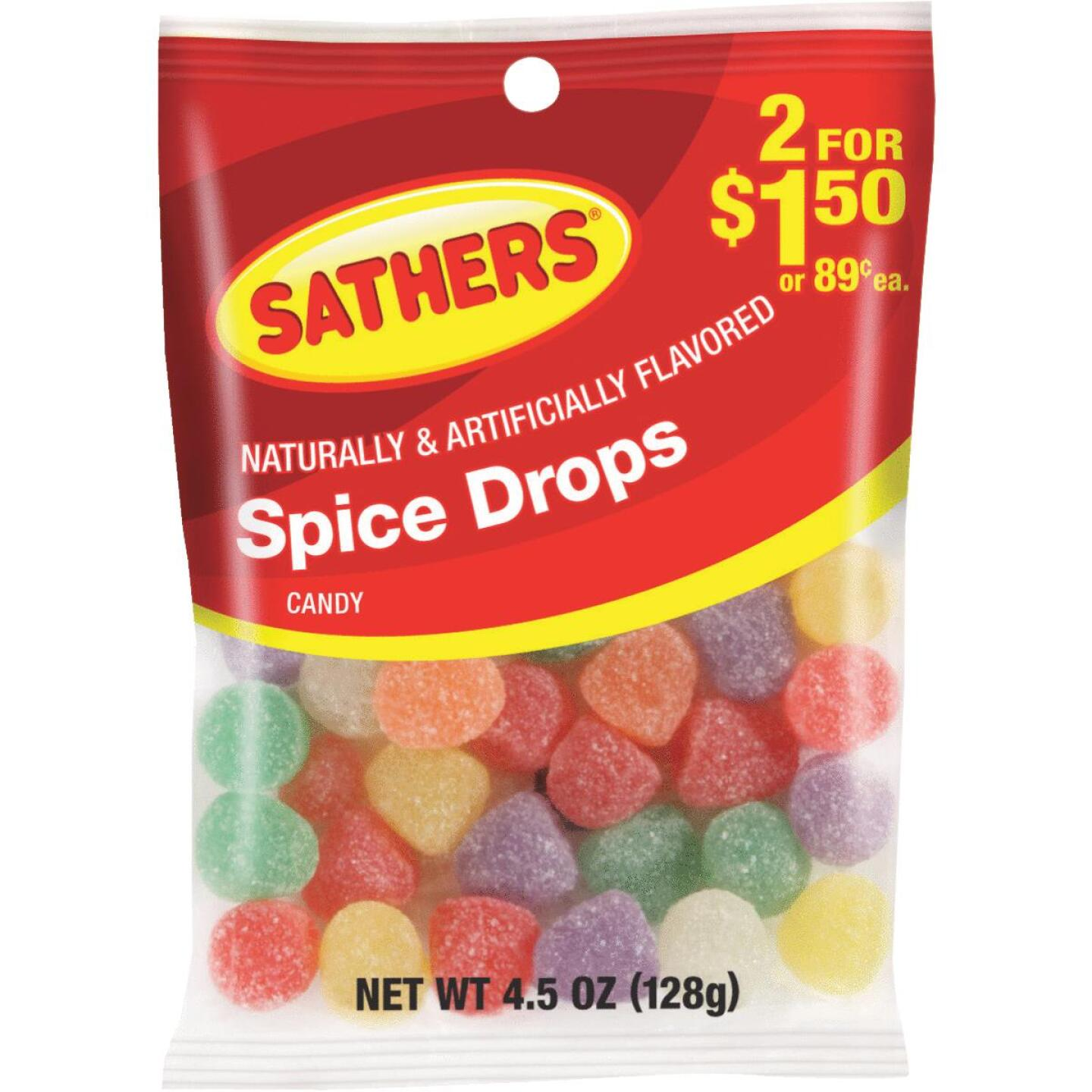 Sathers 4.5 Oz. Spice Drops Image 1
