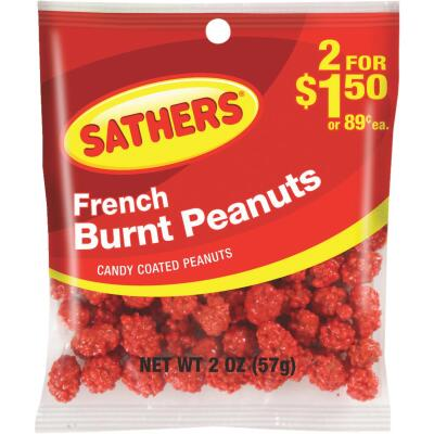 Sathers 2 Oz. French Burnt Peanuts